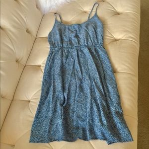 GAP Blue and White Sundress Medium
